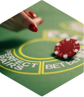 blackjack bet behind