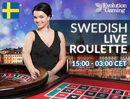 swedish live roulette